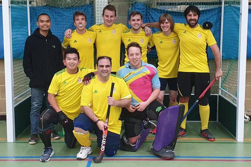 Men's Indoor Team