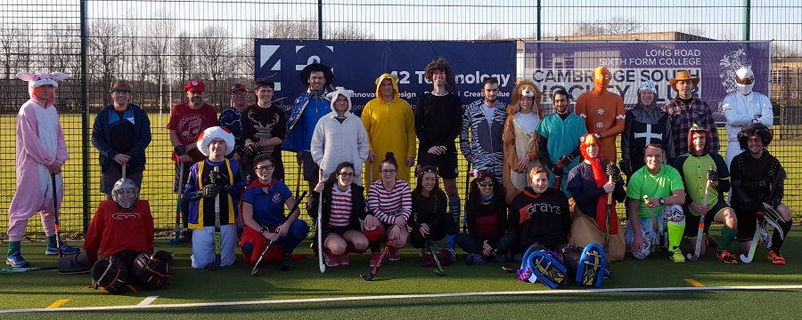 A New Year! A New Start! New Costumes! Yes, a New Year Fancy Dress Hockey Game!